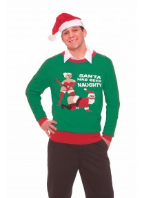 Naughty Santa Sweater