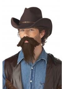 The Rustler Moustache & Goatee
