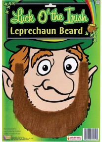 St Patrick's Day Leprechaun Beard