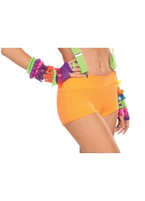 Neon Booty Shorts Orange