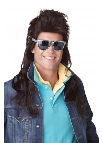80s Rock Mullet Wig