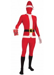 Disappearing Man Santa Suit Costume