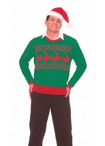 Reindeer Games Sweater