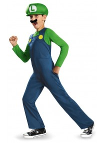 Classic Luigi Child's Costume