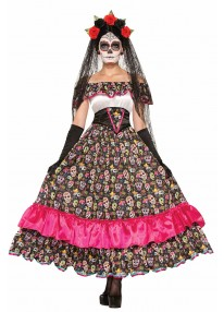 Day of the Dead Spanish Lady Costume