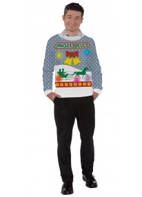 Jingle Bells Light And Sound Sweater