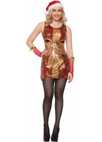 Sequin Present Dress Costume