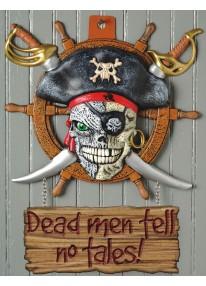Dead Men Tell No Tales Wall Decor