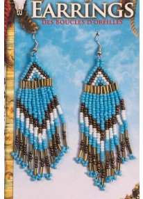 Native American Bead Work Earrings