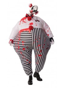 Inflatable Evil Clown Costume