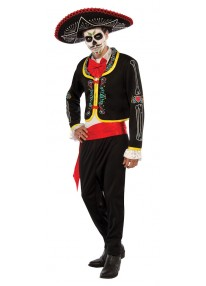 Day of the Dead Senior Adult Plus Size Costume