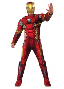 Deluxe Iron Man Adult Costume