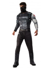 Deluxe Winter Soldier Adult Costume