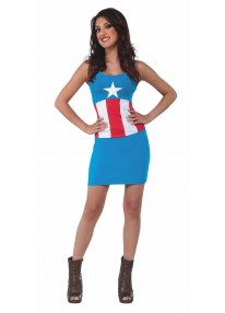 American Dream Tank Dress Costume