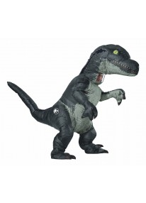 Inflatable Velociraptor Adult Costume