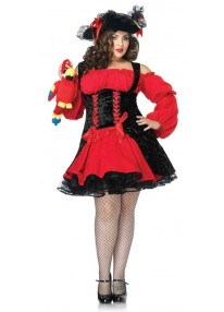 Vixen Pirate Wench Costume-1X