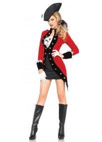 Racy Red Coat Costume
