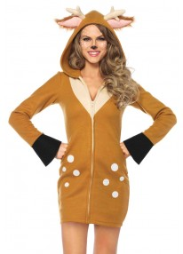 Cozy Fawn Costume