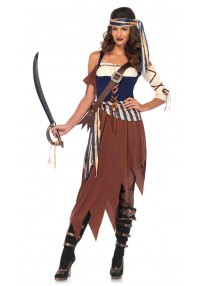 Caribbean Castaway Costume