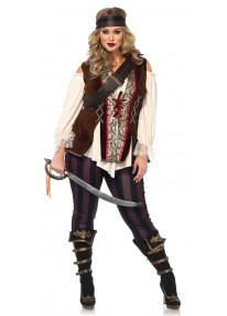 Captain Blackheart Plus Size Costume