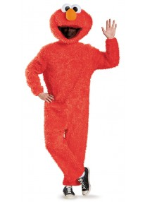 Plush Elmo Prestige Costume