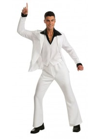 Saturday Night Fever White Suit Costume