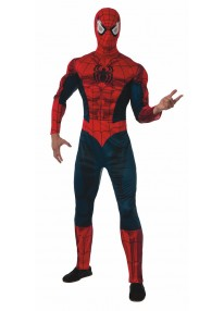 Deluxe Spider Man Adult Costume
