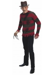 Deluxe Freddy Krueger Adult Sweater