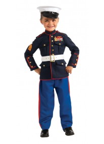 Marine Dress Blues Costume