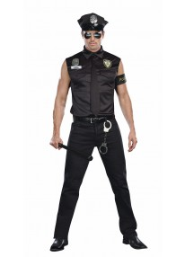 Dirty Officer Ed Banger Costume