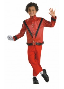 Deluxe Michael Jackson Red Thriller Jacket