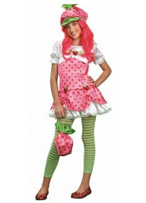 Tween Deluxe Strawberry Shortcake Costume