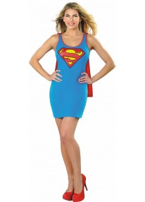 Supergirl Tank Dress Costume