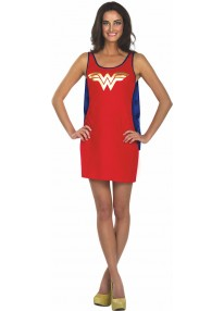 Wonder Woman Tank Dress
