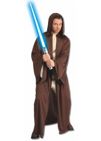 Hooded Jedi Robe Adult Costume
