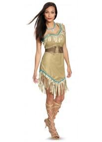 Prestige Pocahontas Adult Costume