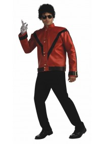 Deluxe Michael Jackson Red Thriller Adult Jacket