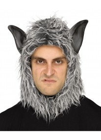 Man or Beast Grey Wolf Masks
