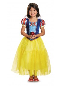 Deluxe Snow White Girl's Costume