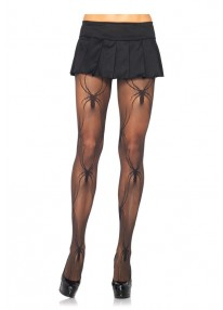 Micro Net Black Widow Pantyhose