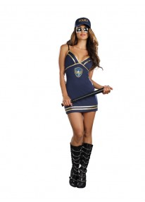 Under The Covers Police Costume