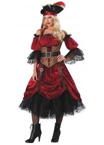 Deluxe Swashbucklin' Scarlet Adult Costume