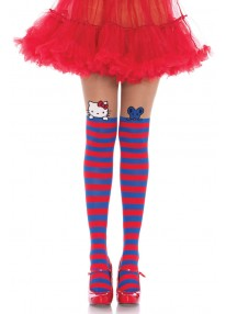Hello Kitty And Friends Opaque Striped Stockings