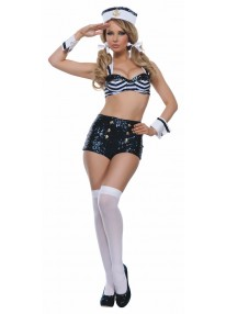 Seductive Sailor Adult Costume