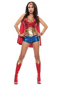 WOW Girl Adult Costume