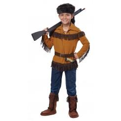 Frontier Boy Davy Crockett Costume