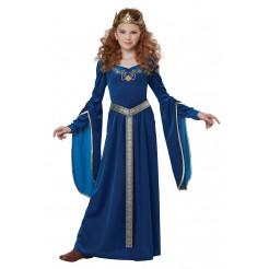 Medieval Teal Princess