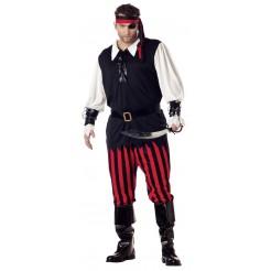 Cutthroat Pirate Costume Plus Size