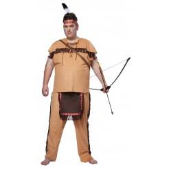 Native American Brave Costume Plus Size