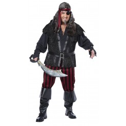 Ruthless Rogue Costume Plus Size